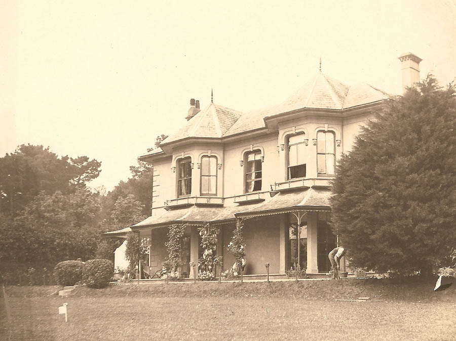 Townstal House Dartmouth occupied by Charles Gerald Taylor