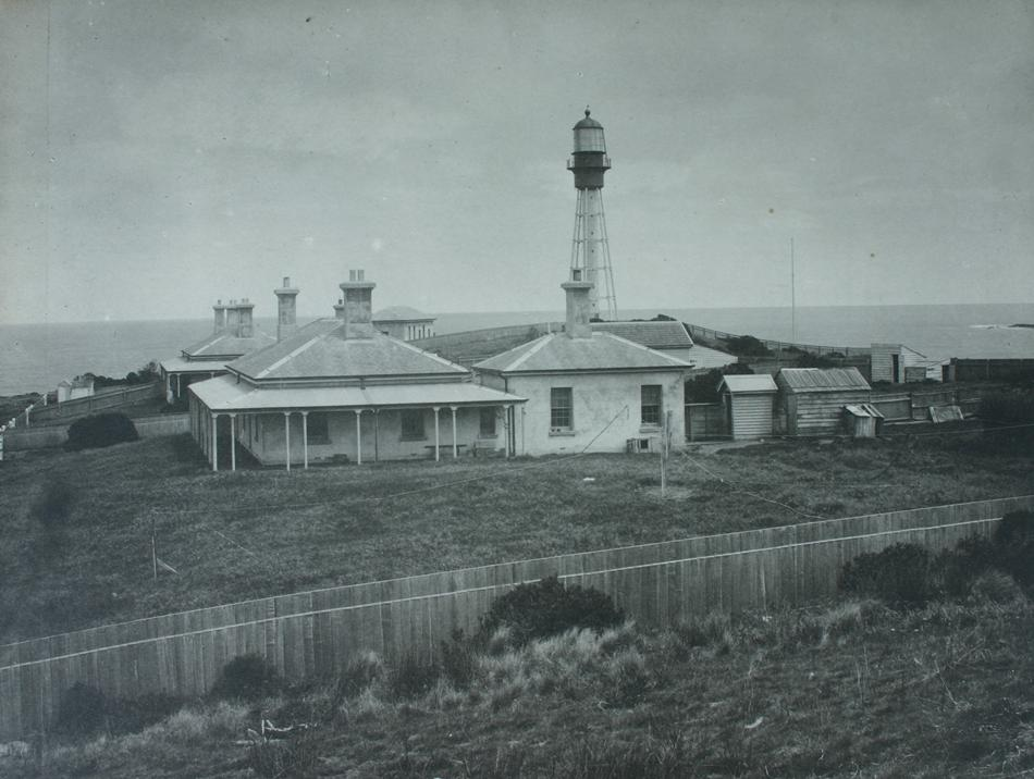 Currie Harbour Lighthouse  king Island 1887 copyright Museum Victoria