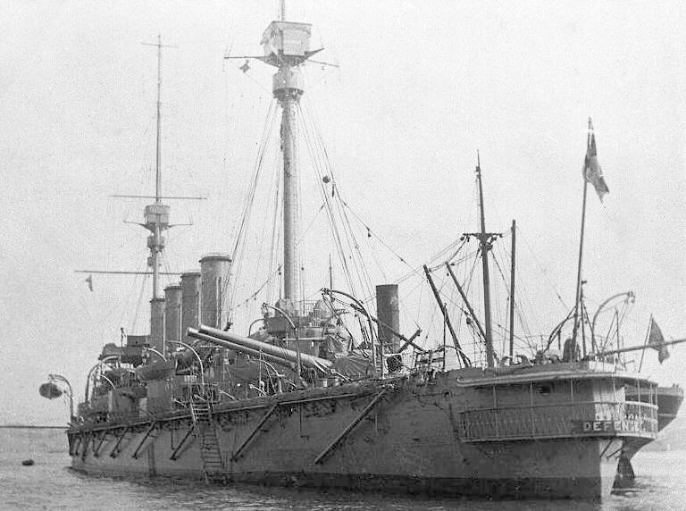 HMS Defence in 1907