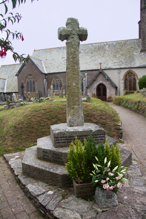 Memorial at St Peter's Church Stoke Fleming