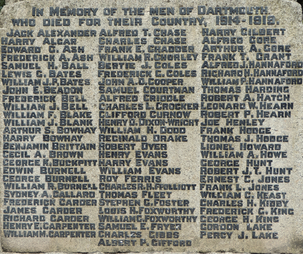 Dartmouth Town Memorial