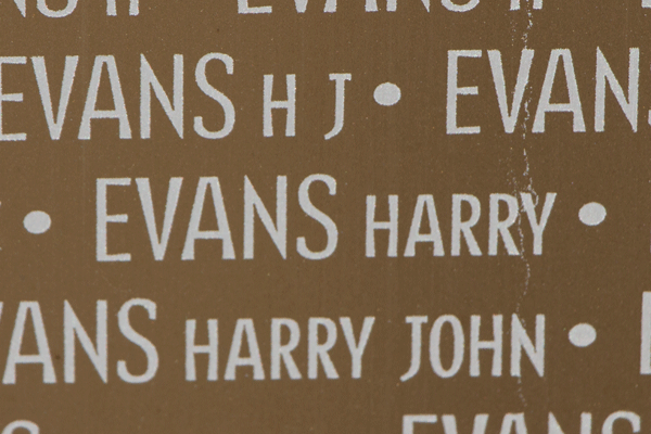 Harry Evans Ring of Memory memorial at Notre Dame de Lorette