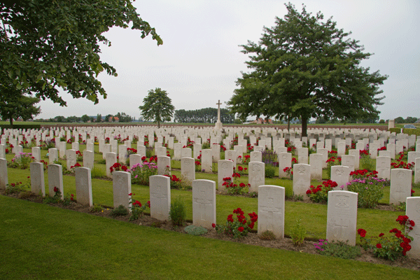 The Huts Cemetery Near Ypres