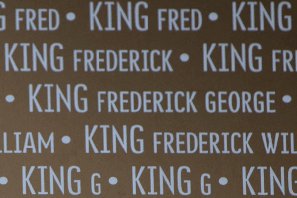 Frederick George King Ring of Memory memorial at Notre Dame de Lorette