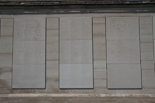 Loos Devonshire Memorial Panels