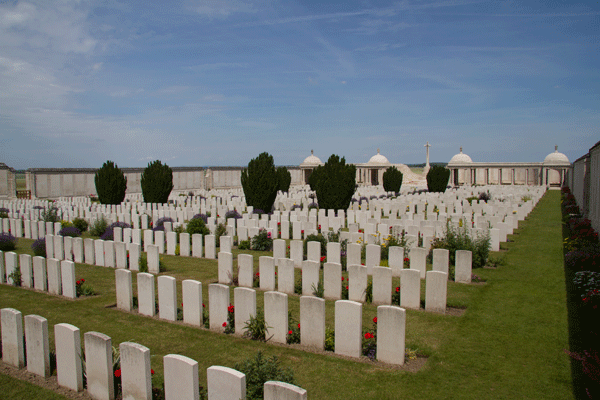 The Loos Memorial and Dud Corner Cemetery