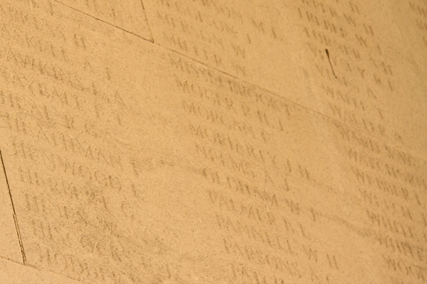 James Henry Moriarty at Arras Memorial