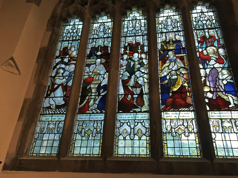St Saviours South Transept Window
