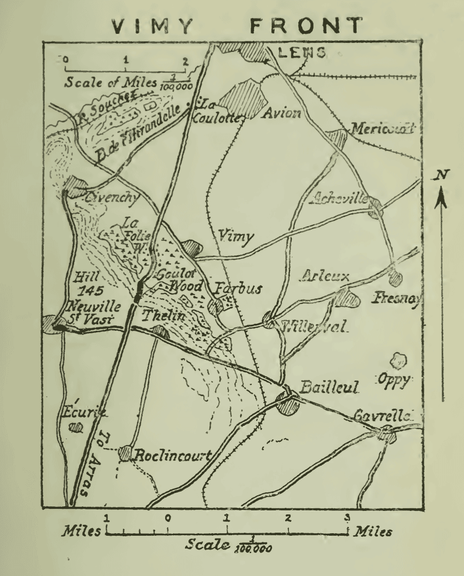 Vimy Ridge, from the history of the 5th Division in the Great War